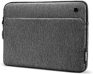 tomtoc 12.9インチ インナバッグ 12.9インチ 新型 iPad Pro 2018-2020 対応 薄型スリーブケース、 アクセサリーポケット付き、マジックキーボード & iPad Pencil & スマートキーボード Folio装着対応