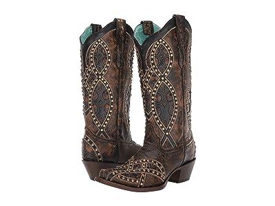 Corral Boots E1513 (Black) Women