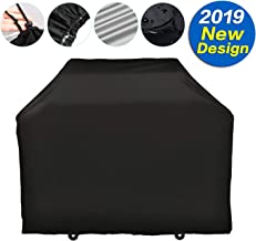 """SARCCH Grill Cover,(58"""" Black) BBQ Special Grill Cover,Waterproof and  UV Resistant Material, Durable and Convenient,Fits Grills of Weber Char-Broil Nexgrill Brinkmann and More"""