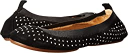 Samara Kid Suede Micro Studded Fold Up Flat