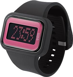 ODM - DD125A-3 - Montre Mixte - Quartz Digital - Eclairage - Bracelet Silicone Noir