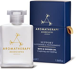 Aromatherapy Associates Lavender & Peppermint Bath & Shower Oil, 1.86 Fl Oz