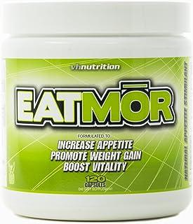 Eatmor Appetite Stimulant | Weight Gain Pills for Men and Women | Natural Hunger Boosting Orxegenic Supplement | VH Nutrit...