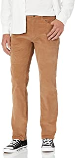 Amazon Brand - Goodthreads Men's Straight-Fit 5-Pocket Comfort Stretch Corduroy Pant