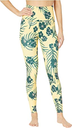 Olympus High-Waisted Midi Leggings