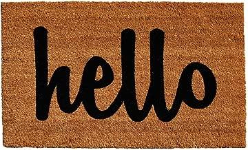 Calloway Mills 100342436NBS Script Hello Doormat, 24