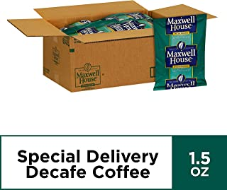 Maxwell House Special Delivery Shy Roast Decaf Ground Coffee (1.5 oz Bags, Pack of 112)