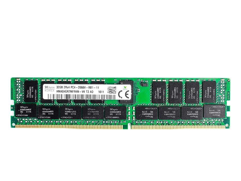 SK HYNIX 32GB PC4-2666V-R DDR4 Registered ECC 2RX4 Memory HMA84GR7MFR4N-VK l4556582176