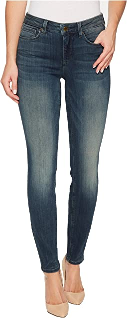 NYDJ Dylan Skinny Ankle Jeans in Sure Stretch Denim in Axiom