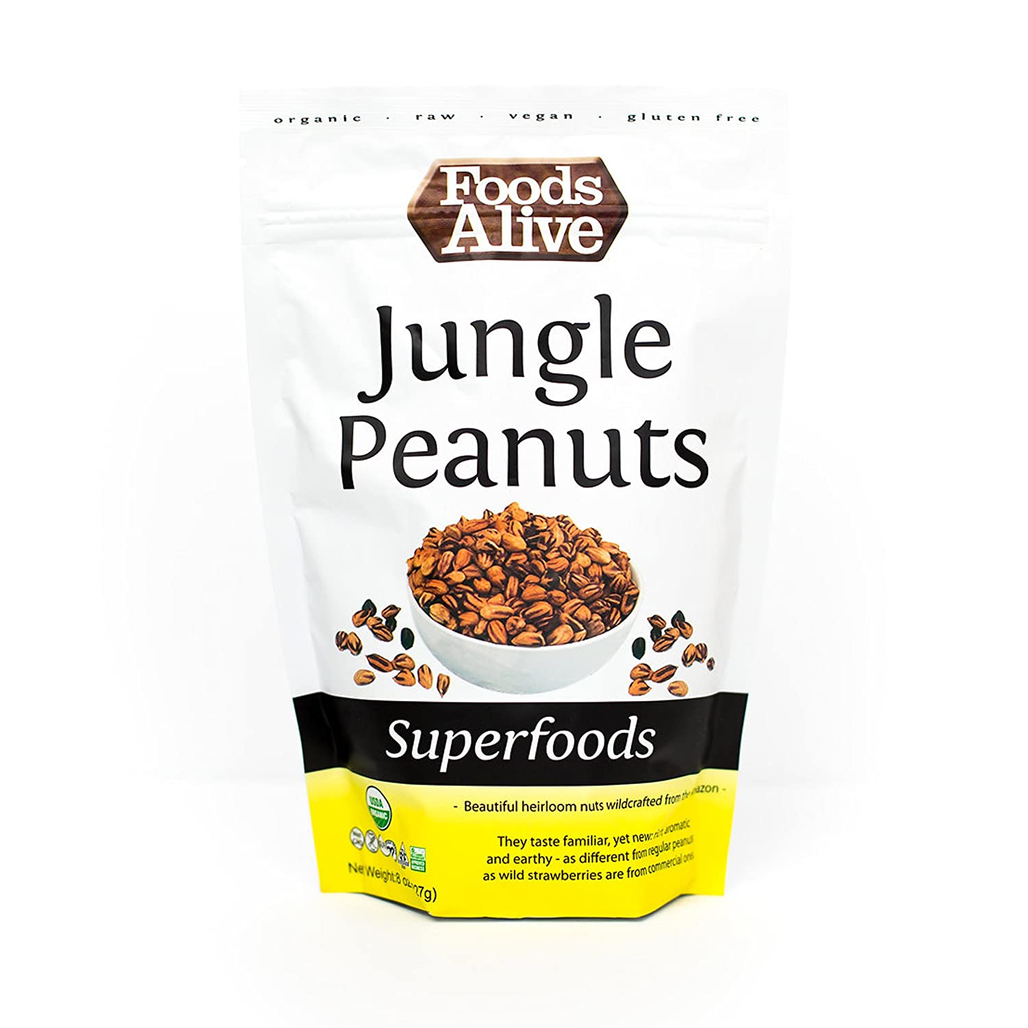 Foods Alive A surprise price is realized Organic Jungle Peanuts 8 of Las Vegas Mall Ounce Pack Bags 2