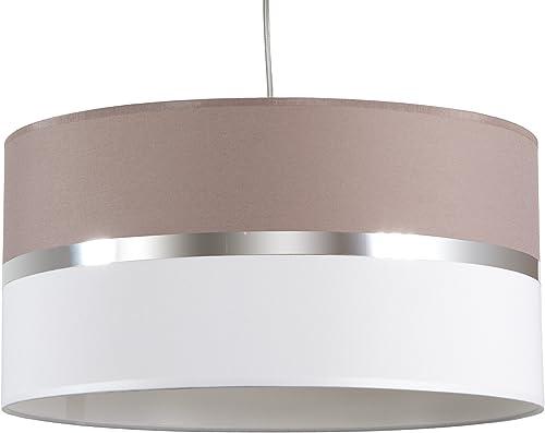 Maison Lune 42281 Lampe de Plafond-texture cendres Blanc