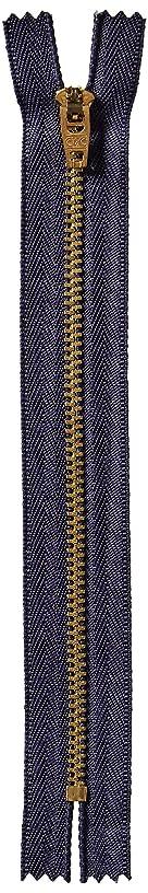 Coats Thread & Zippers F2709-013 Brass Jean Metal Zipper, 9