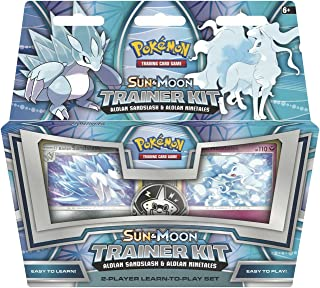 Pokemon TCG: Sun & Moon Trainer Kit Alolan Sandslash & Alolan Ninetales