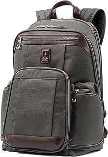 Travelpro Platinum Elite-17-Inch Business Laptop Backpack, Vintage Grey, 17.5-Inch