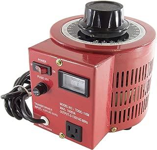 SciencePurchase 10 Amp Variable Transformer, 1000Va Max, 0~130 V Output