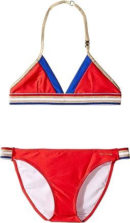Little Marc Jacobs - Two-Piece Swimsuit (Big Kids)