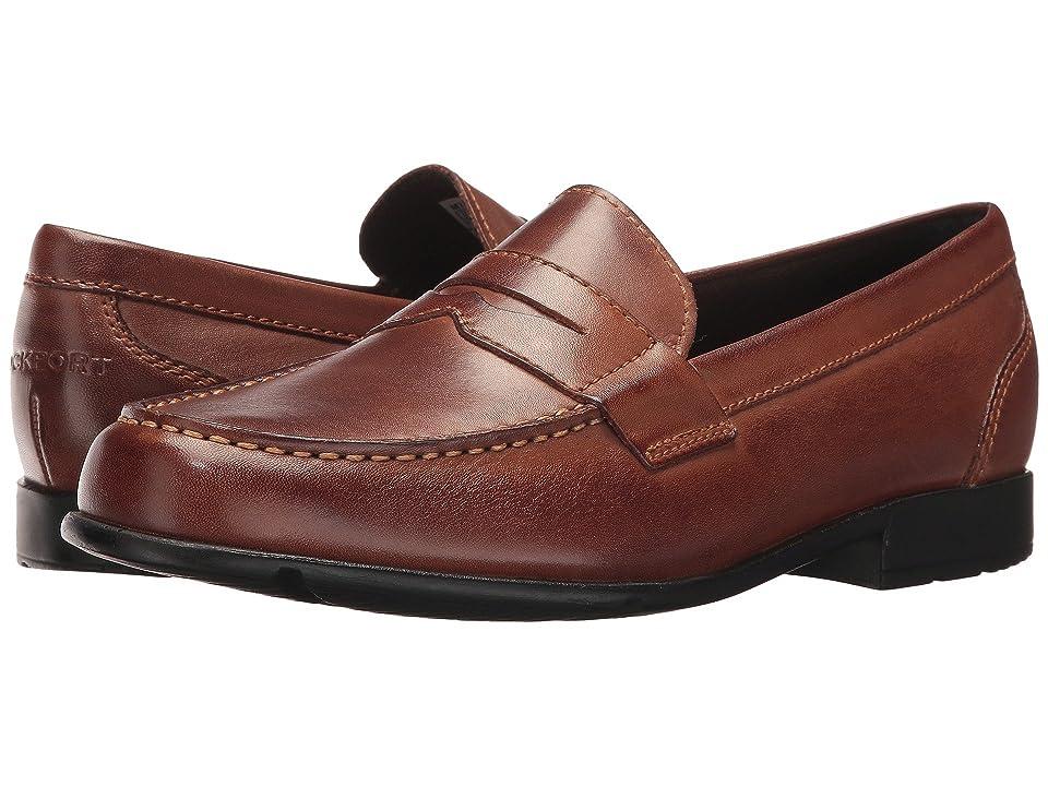 Rockport Classic Loafer Lite Penny (Dark Brown) Men