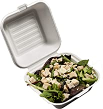 California Containers - Take Out Boxes Clamshell Hinged Biodegradable To Go Food Containers - 6