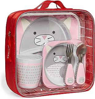 Skip Hop Zoo Winter Mealtime Gift Set - Winter Cat