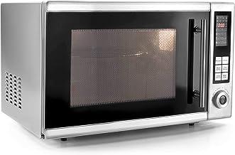 Lacor 69330-Horno microondas con Plato Giratorio + Grill, 30 L, 900 W