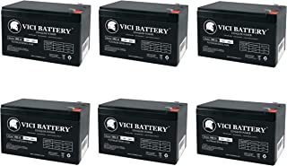 VICI Battery VB9-12 - 12V 9Ah Replacement Battery for CSB HR1234WF2-6 Pack Brand Product