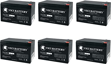 VICI Battery 12V 9Ah SLA Battery Replacement for Tripplite SMART3000RM2U - 6 Pack Brand Product