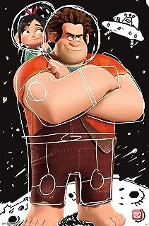 Trends International Disney Wreck Ralph Breaks The Internet-Space Doodle Wall Poster, 22.375