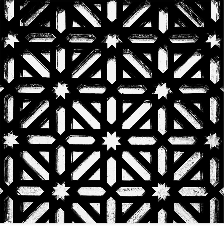 Trademark Fine Art PH01450-C1414GG Made in Spain 3 Catholic Details in The Mezquita of Cordoba B&W by Philippe Hugonnard, 14x14