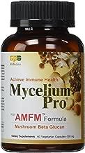 Mycelium Pro Ultimate Immune AMFM (Multi-species Mushroom Beta Glucan Extract) 60 Veggie Caps, 500 mg - New Packaging