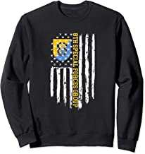 8th Special Forces Group (8th SFG) American Flag Sweatshirt