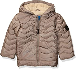 Perry Ellis Boys' Toddler Zigzag Quilted Jacket