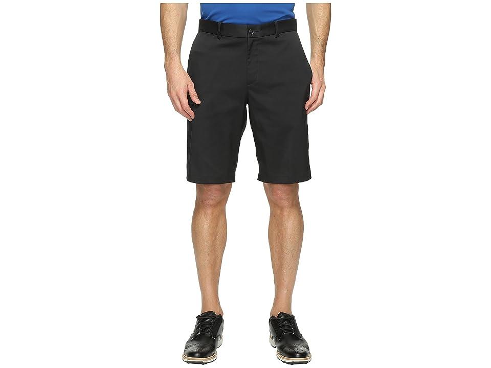 Nike Golf Flat Front Shorts (Black/Black) Men
