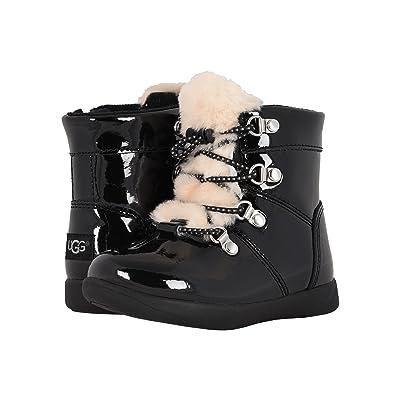 UGG Kids Ager (Toddler/Little Kid) (Black) Girls Shoes