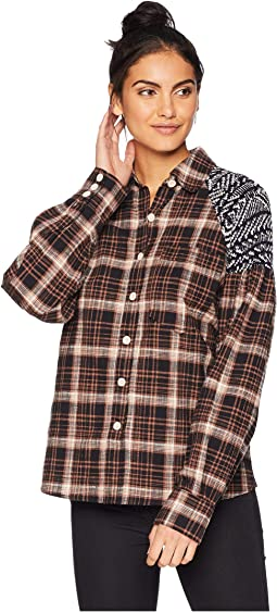 Fireside Nights Button Down