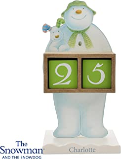 Snowman and the Snowdog Perceptual Calendar