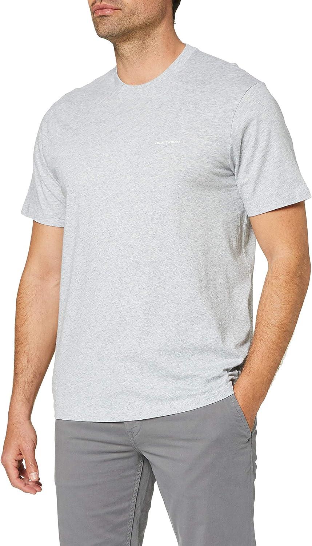 AX Armani Exchange Men's Short Sleeve Micro Logo Pima Cotton Jersey T-Shirt