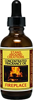 Concentrated Fragrance Oil - Fireplace: A woodsy, earthy aroma. True to it's name. Infused w/essential oils.(2 fl.oz.)