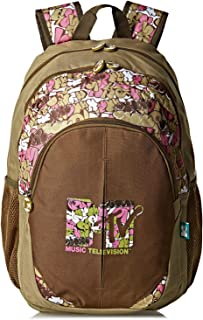 Nickelodeon Mtv School Backpack for Girls - Multi Color