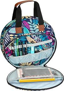 Aceshop Sac de Kit de Broderie Sac de Rangement Portable pour Point de Croix Sac Fourre-Tout Artisanal pour Cerceaux de Br...