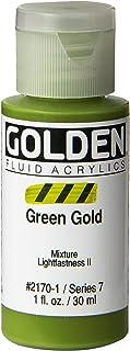 Pro-Art Golden Fluid Peinture acrylique 28,3 g Vert doré