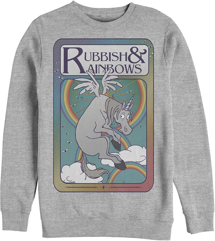 Fifth Sun Men's Max 58% OFF Sale item Onward Rubbish Card Sweatshir Playing Rainbows