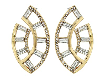 Vince Camuto Wrap Earrings (Gold/Crystal) Earring
