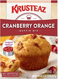 Krusteaz Cranberry Orange Muffin Mix, 1.16 Pound (Pack of 12)