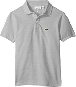 2e9e7233bed4 Silver Chine. 51. Lacoste Kids. L1812 Short Sleeve Classic Pique Polo  (Toddler Little ...