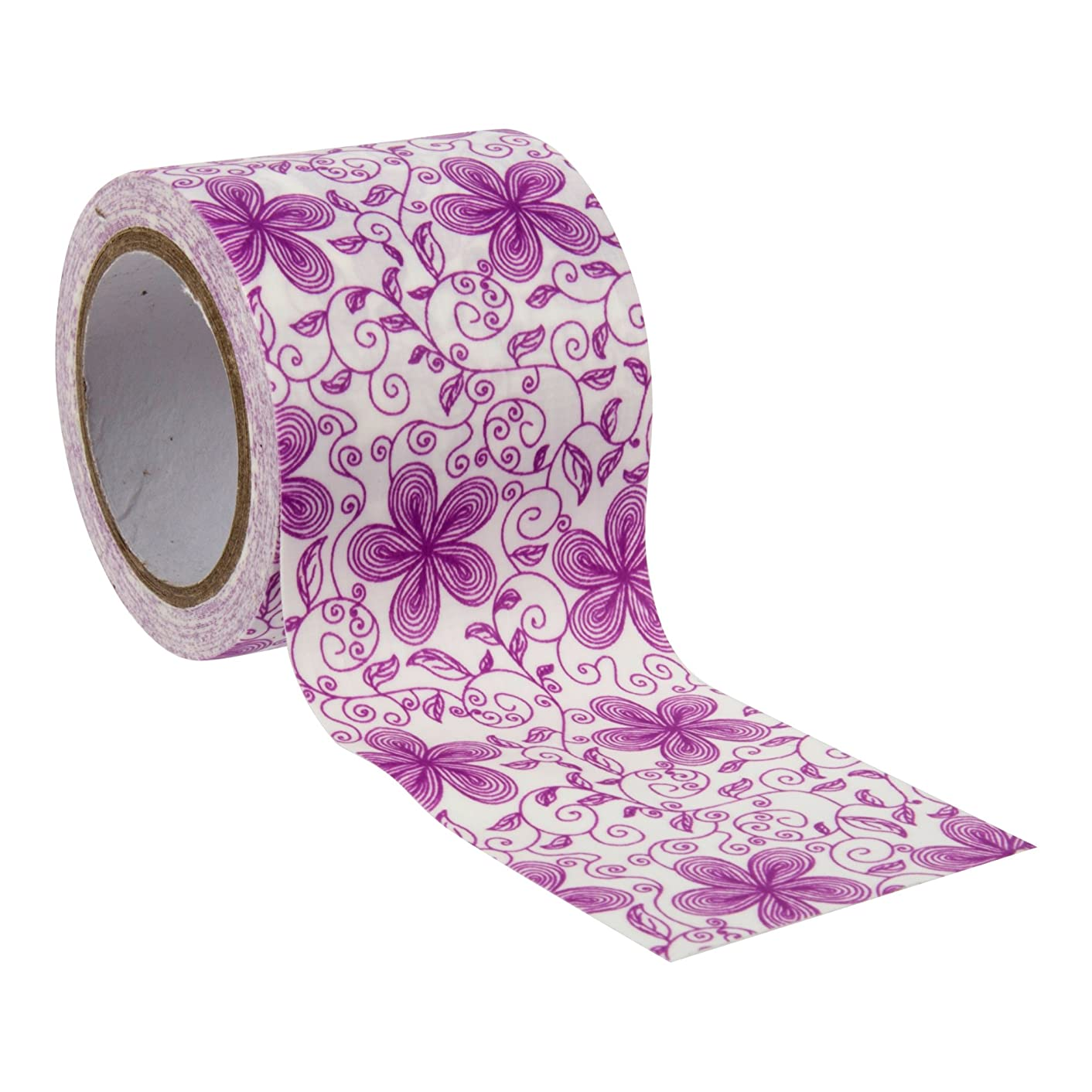 CTG, Crafters Duct Tape, 1.9 Inches, Pink Floral, 6 Pieces