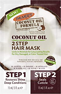 Palmer's Coconut Oil Formula 2-Step Hair Mask, 1 Ounce (Pack of 12)