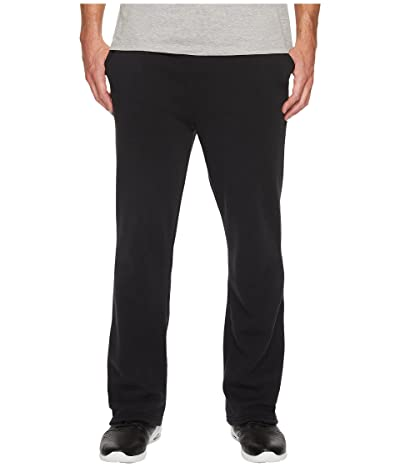 Alternative Eco Fleece The Hustle Open Bottom Sweatpants (Eco True Black) Men