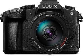 Panasonic DMC-G85H Lumix G Vario 14-140mm/F3.5-5.6 ASPH Lens, Mirrorless Camera with case