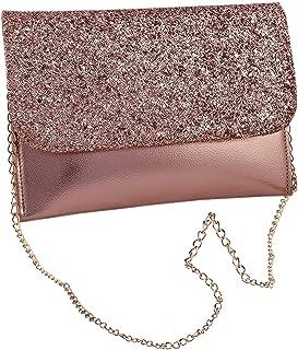 DN Enterprises Elegant Party Clutch Bag Chain Sling Bag For Women Girls