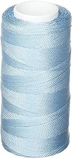 Iris Nylon Crochet Thread, 275-meters, Glass Blue